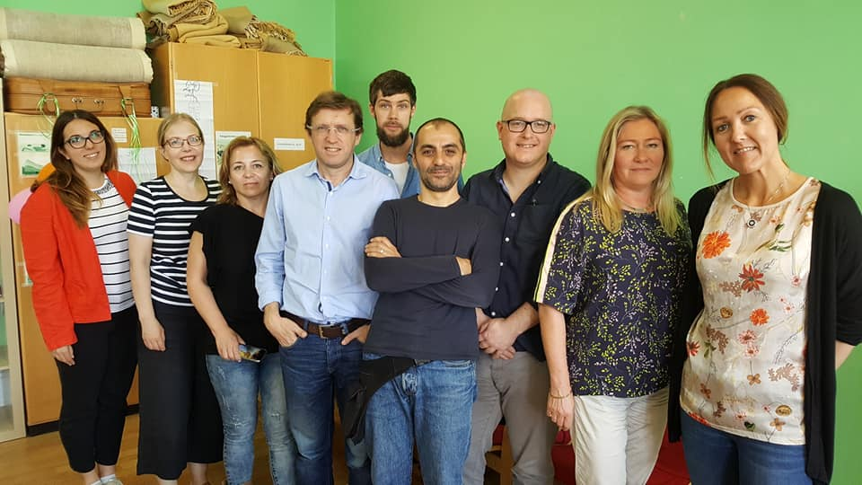 REGIÃO - EPATV participou em reunião Erasmus+ na Suécia