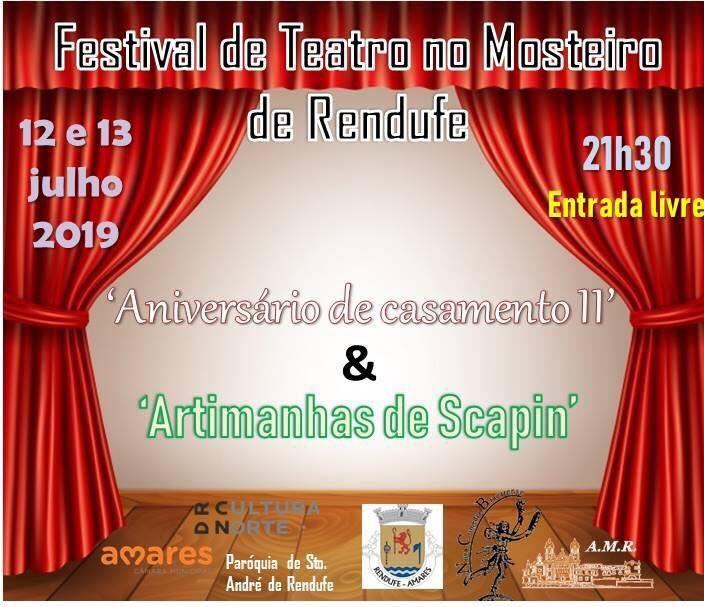 Teatro no Mosteiro de Rendufe