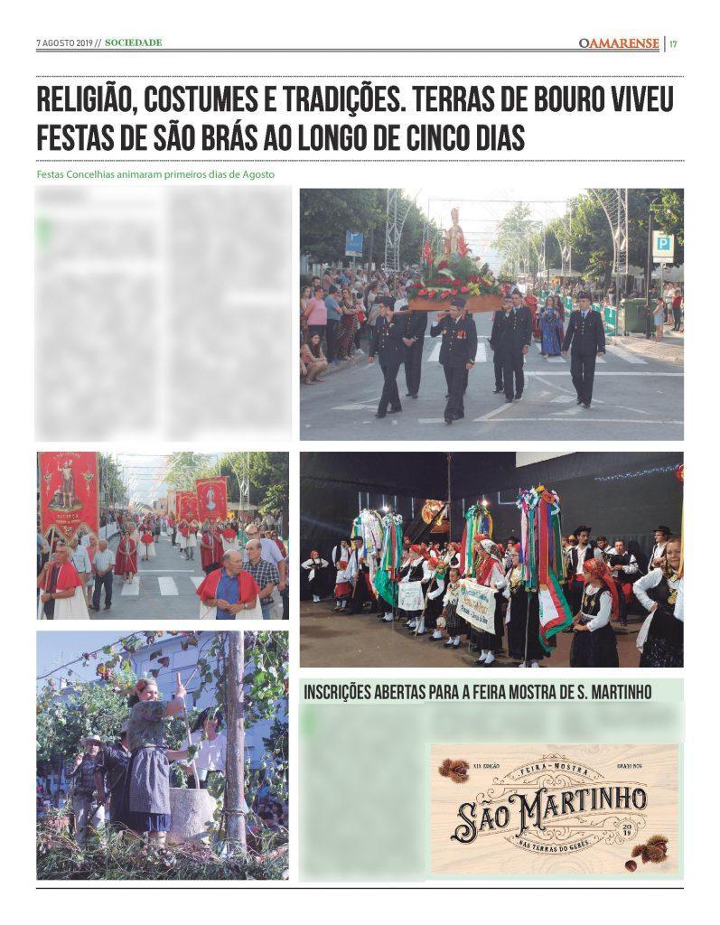 EDIÇÃO IMPRESSA – Religião, costumes e tradições. Terras de Bouro viveu festas de São Brás ao longo de cinco dias