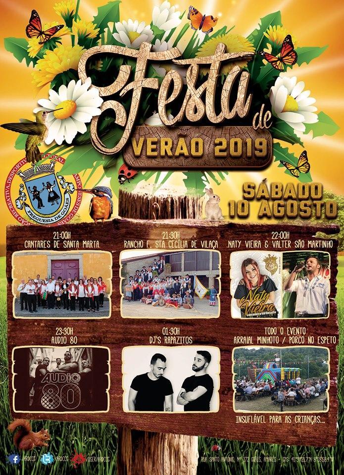 AMARES - Festa de Verão 2019 da ARDCC Goães é este sábado