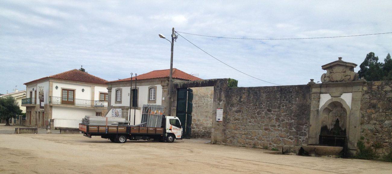 AMARES – Já começaram as obras no Mosteiro de Rendufe