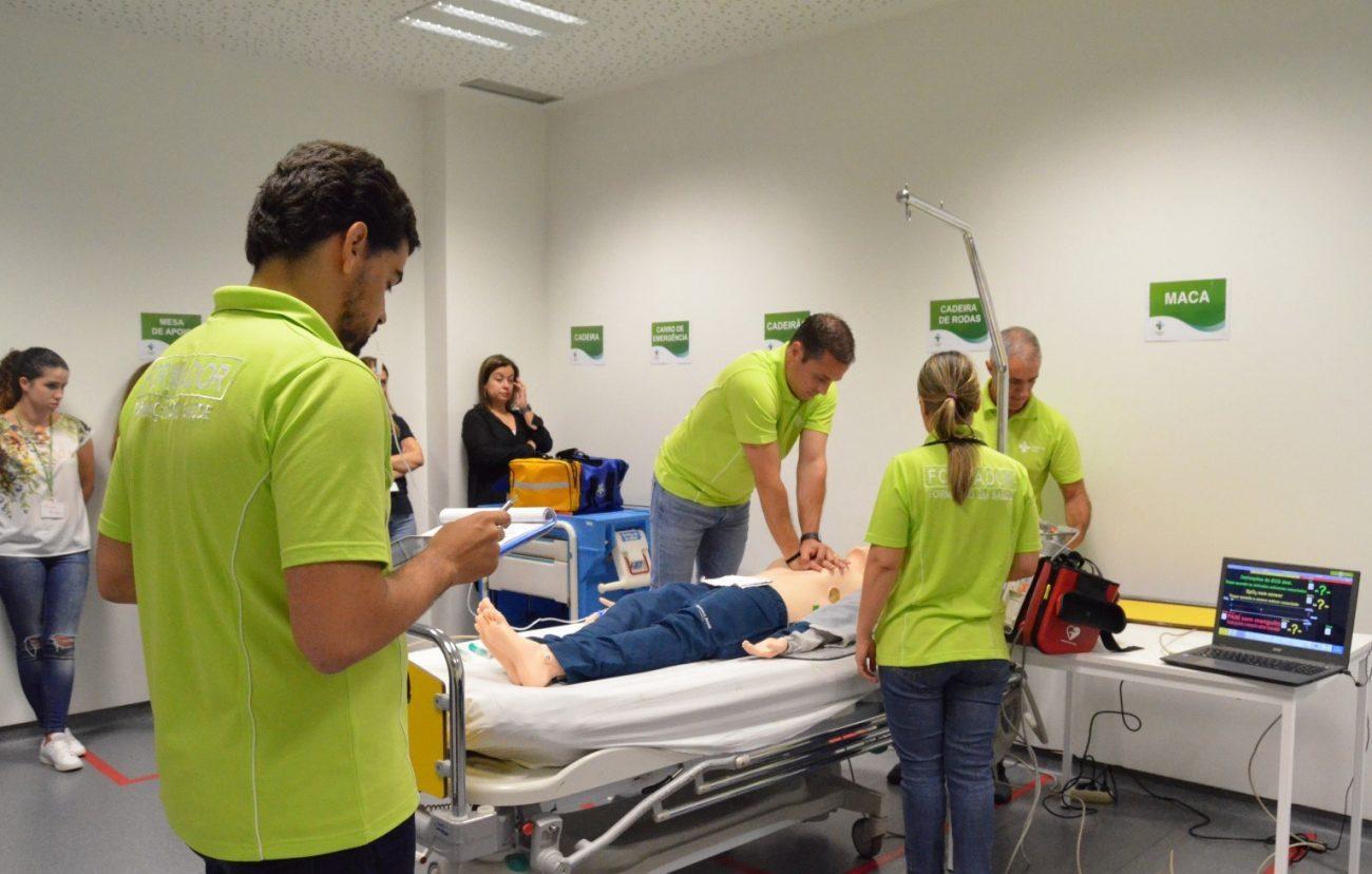 SAÚDE - INEM certifica Hospital de Braga na formação de Suporte Avançado de Vida