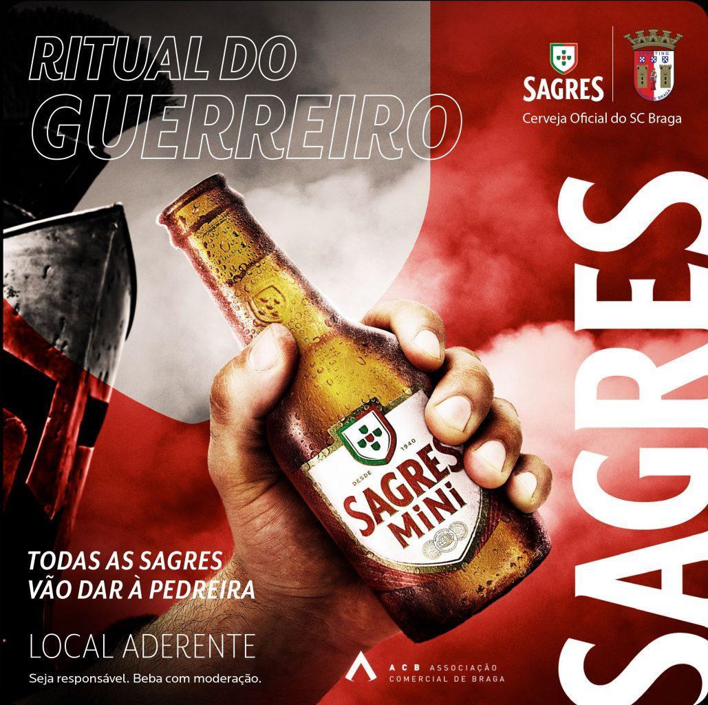"""BRAGA - """"Ritual Guerreiro"""" para aproximar clube, cidade e adeptos"""