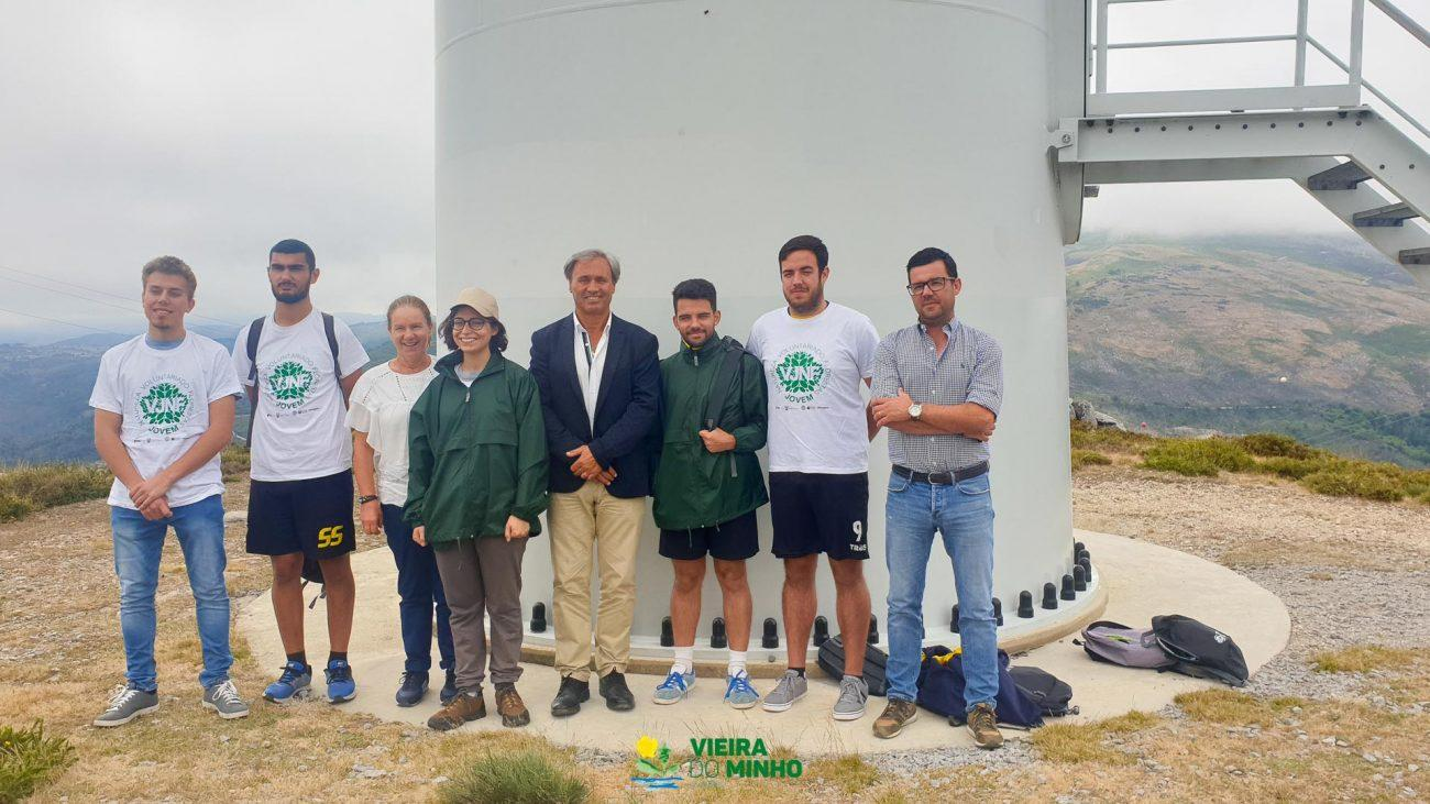 REGIÃO - 40 jovens voluntários vigiam Serra da Cabreira