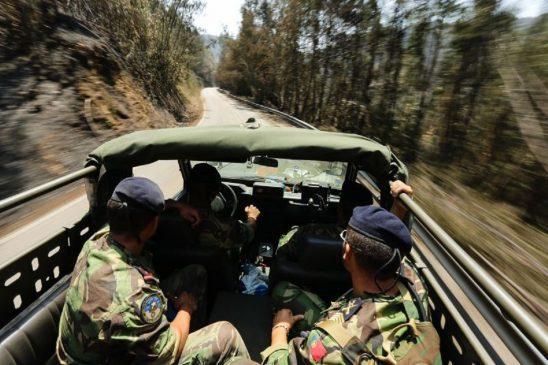 INCÊNDIOS - Militares reforçam vigilância no distrito de Braga por tempo indeterminado
