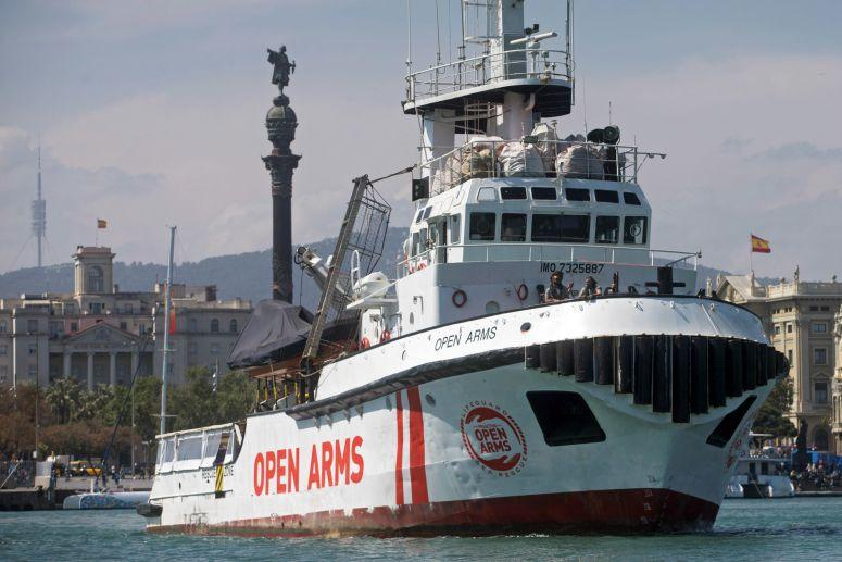 PAÍS – Portugal vai receber até 10 migrantes do navio Open Arms
