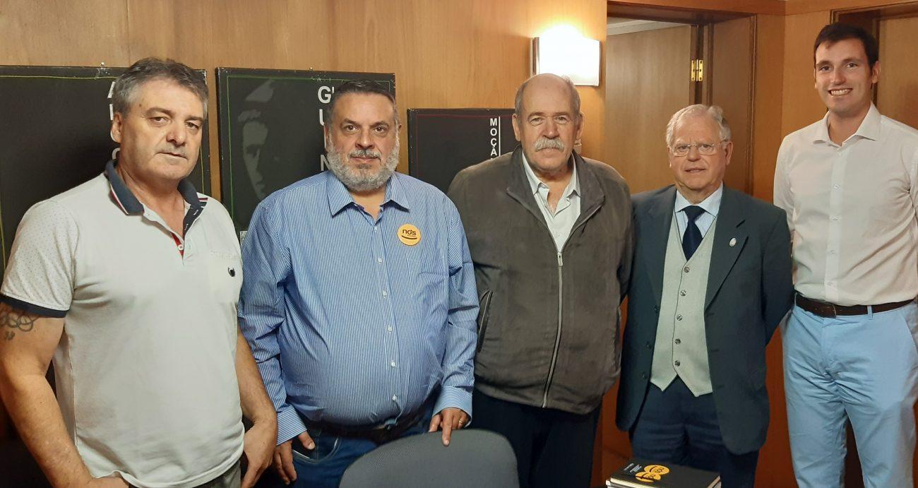 """LEGISLATIVAS - Nós, Cidadãos! acusa em Braga Estado de """"falta de respeito"""" pelos veteranos de guerra"""