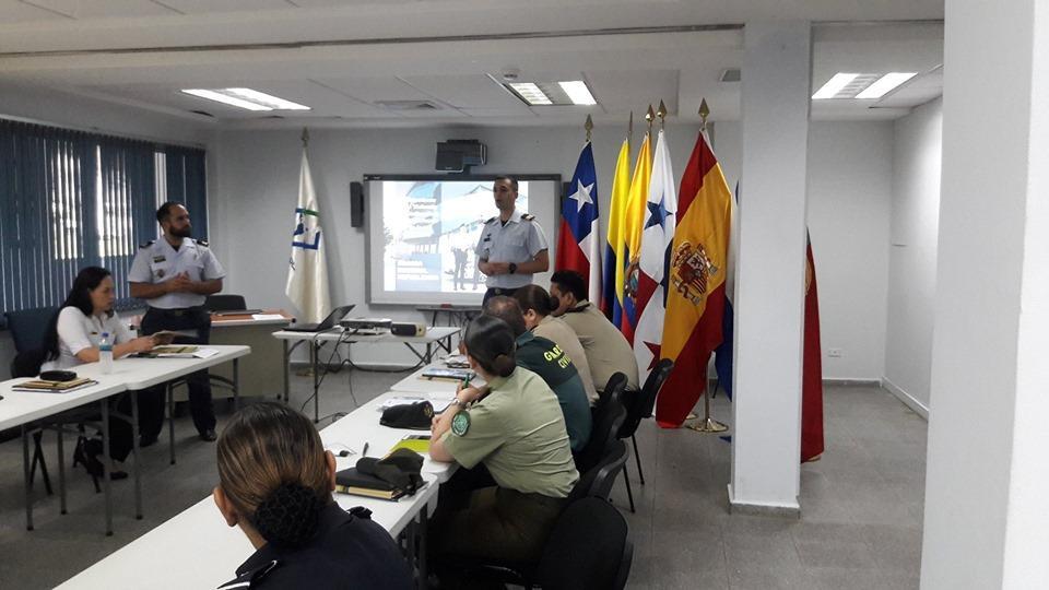 SEGURANÇA – GNR ministra o 1º Curso de Investigação e Apoio a Vítimas Específicas no Panamá