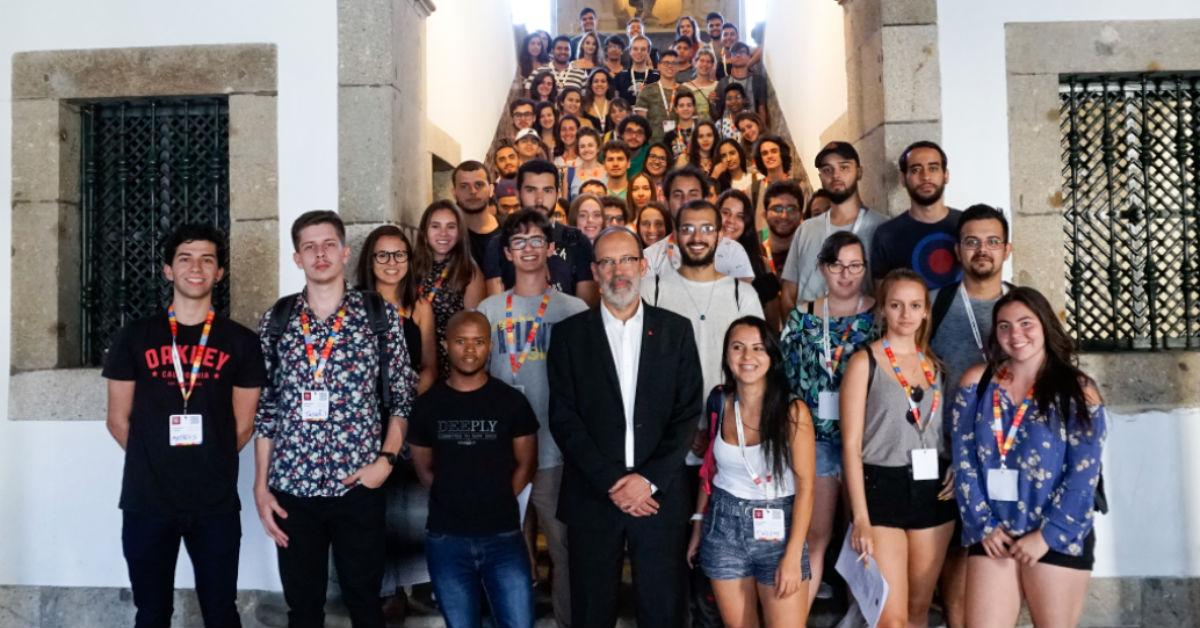 ENSINO SUPERIOR –UMinho acolhe novos estudantes internacionais de licenciatura e mestrado integrado