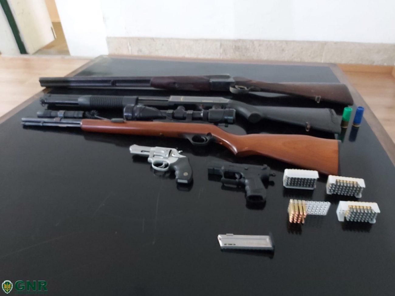 CRIME - Disputa de terrenos na Póvoa de Lanhoso resulta em detenção e apreensão de armas de fogo