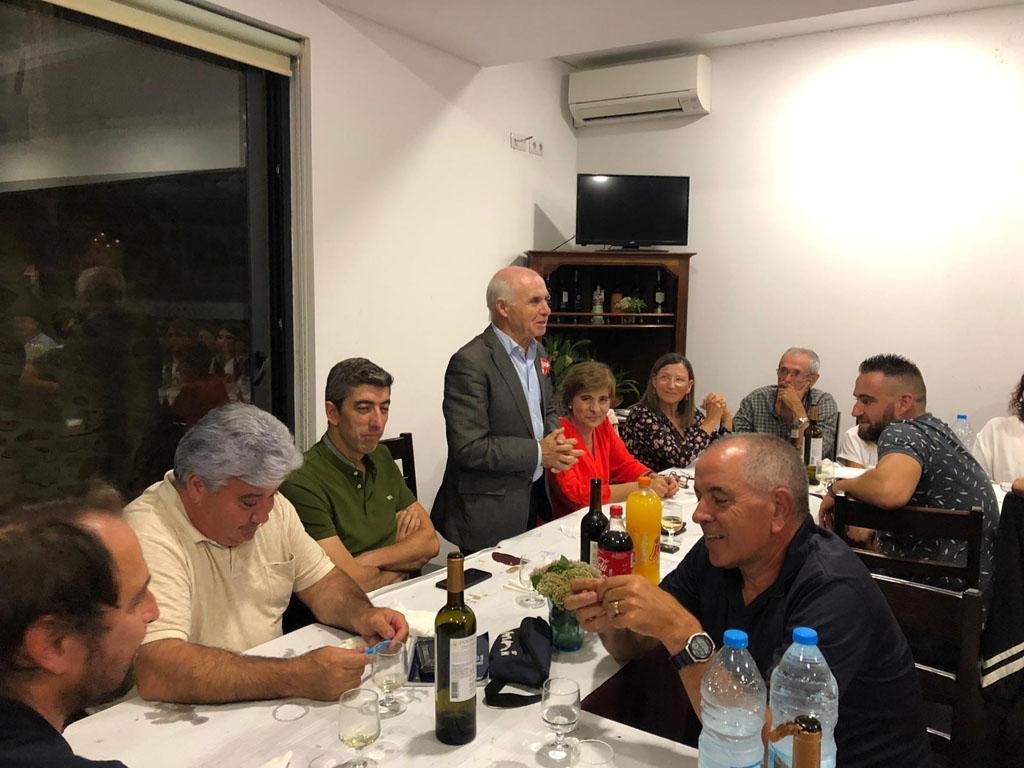 LEGISLATIVAS – PS juntou militantes e simpatizantes em jantar em Amares