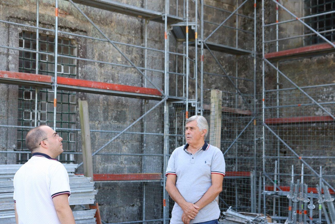 AMARES – Município de Amares acompanha obras no Mosteiro de Rendufe