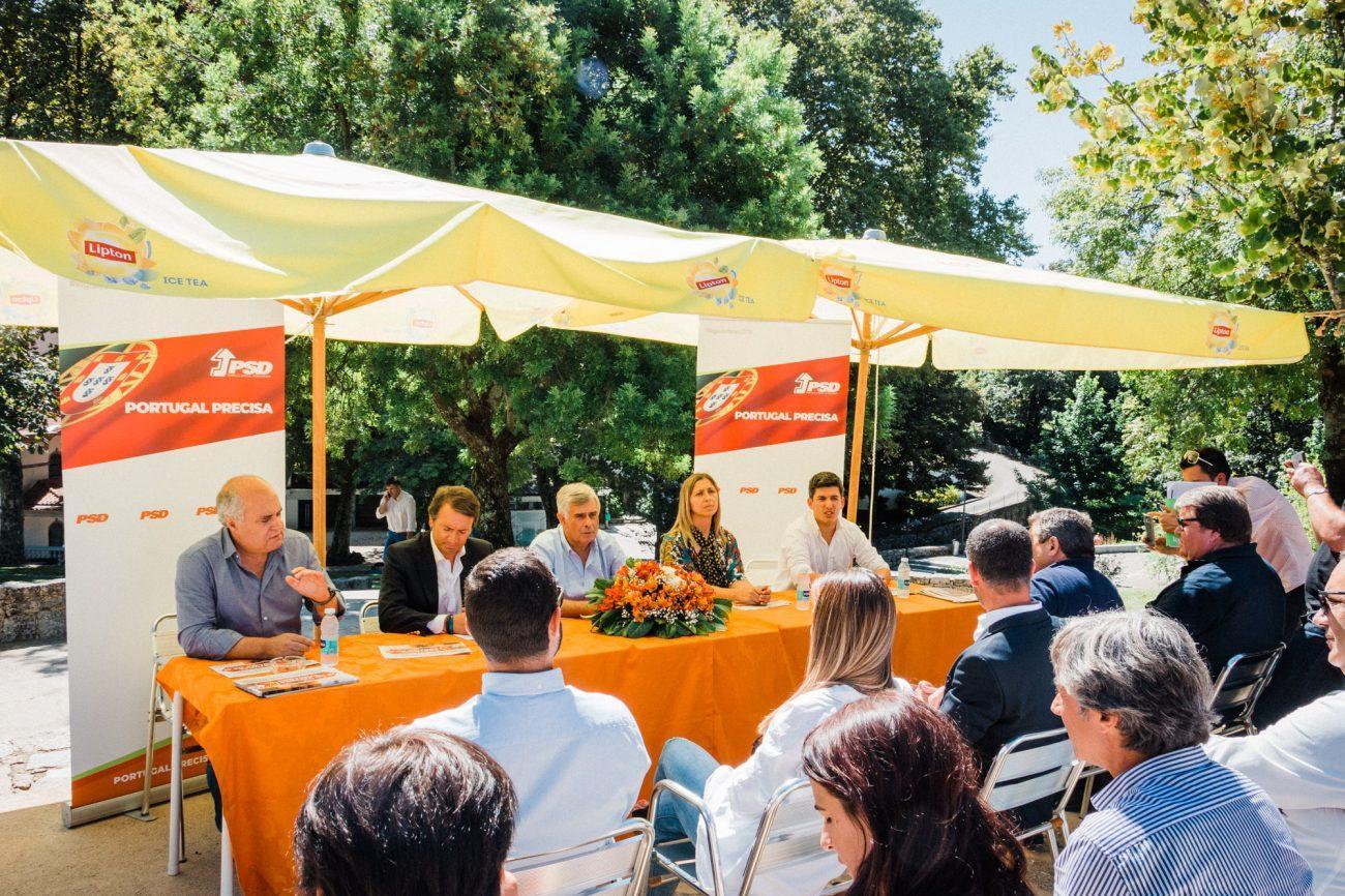 POLÍTICA - Candidatos do PSD em Braga defendem política de «proximidade e de afirmação»
