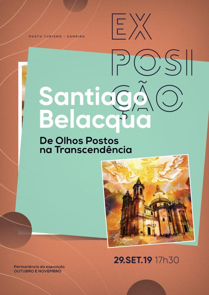 """CULTURA - Exposição """"De olhos postos na Transcendência"""" a partir de 29 de Setembro no Posto de Turismo do Sameiro"""