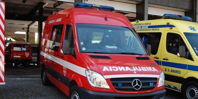 AMARES – Caso de violência doméstica faz dois feridos em Sequeiros