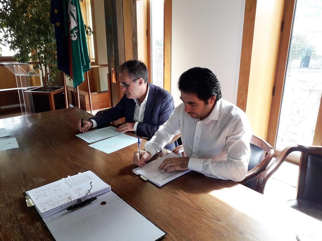TERRAS DE BOURO - Contrato para a construção do Parque Verde em Moimenta já está assinado