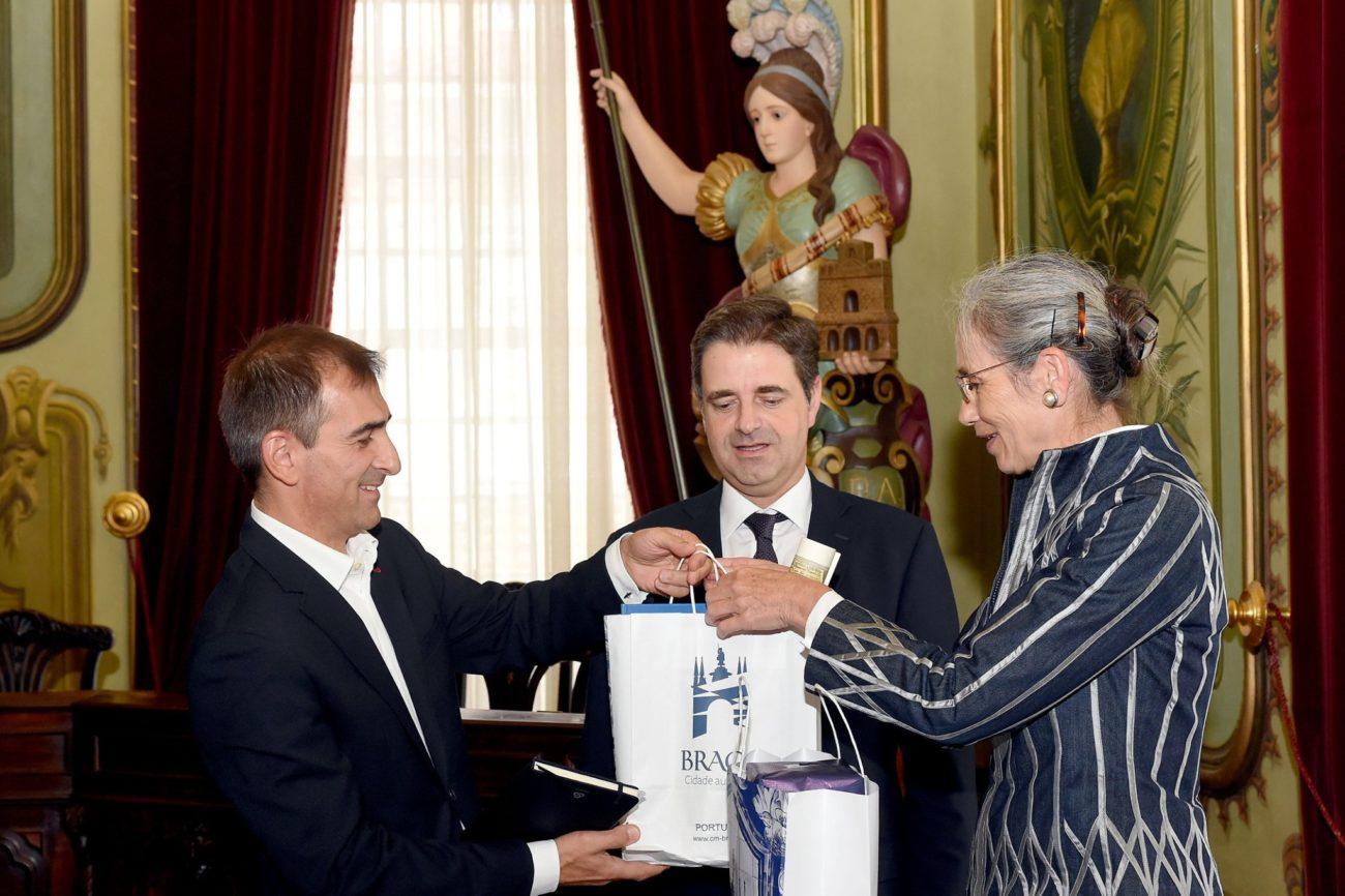 BRAGA - Embaixadora da Holanda visita Braga
