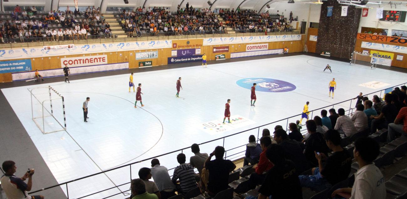 BRAGA – AAUM e UMinho candidatam-se à organização do Campeonato Mundial Universitário de Futsal