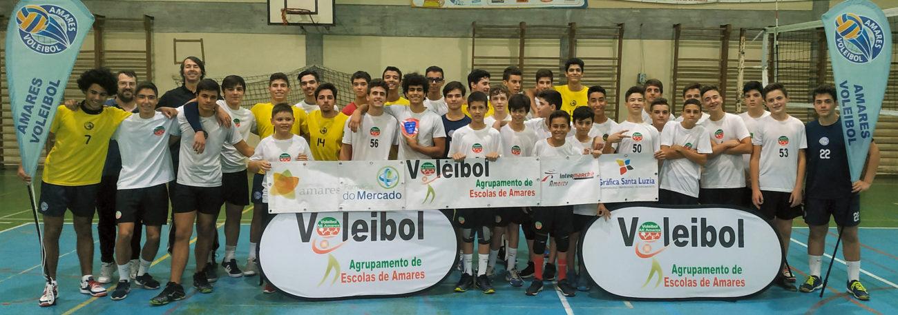 AMARES – Equipas de voleibol de Amares iniciam época com Torneio de Abertura
