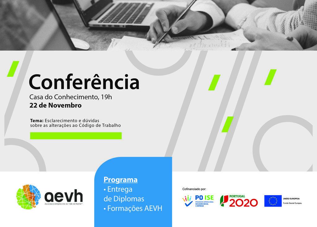 """REGIÃO - AEVH promove conferência sobre formação """"obrigatória"""" para empresas"""