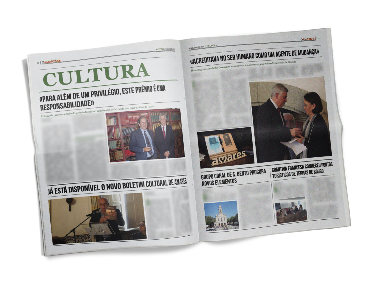 EDIÇÃO IMPRESSA – Homenagem a Agostinho Domingues marcou cerimónia de entrega do Prémio Francisco Sá de Miranda