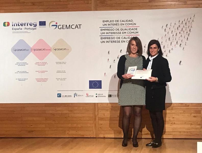 BRAGA - Prémio Transfronteiriço de Conciliação e Igualdade atribuído em Valladolid à empresa bracarense Balanças Marques