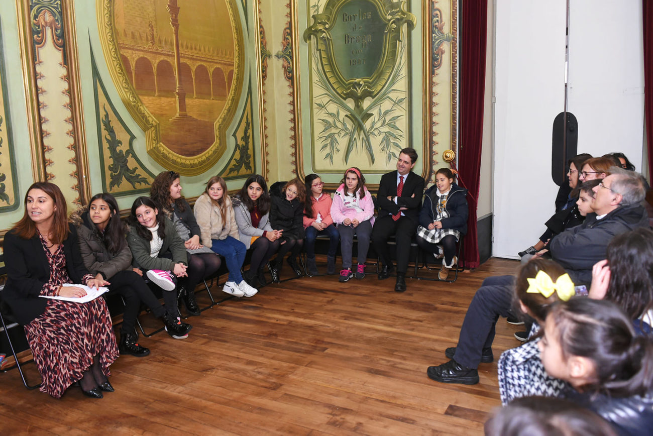 BRAGA - Câmara ouviu propostas de alunos sobre Braga