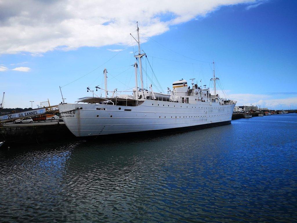 REGIÃO – Navio Gil Eannes em obras para receber Museu Virtual da Memória Marítima
