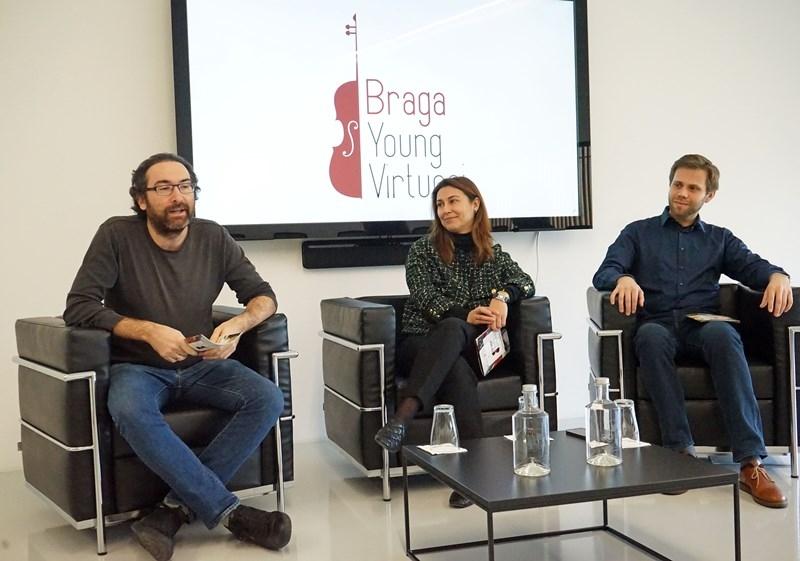 BRAGA - Jovens violinistas de todo mundo no palco do Braga Young Virtuosi em Setembro