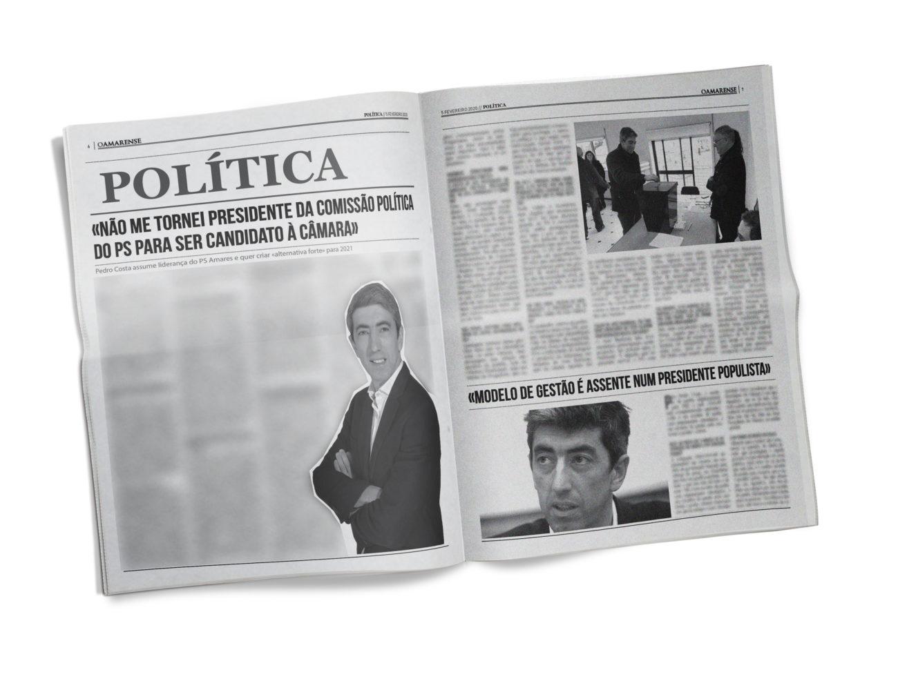 EDIÇÃO IMPRESSA – Entrevista a Pedro Costa: «Não me tornei Presidente da Comissão Política do PS para ser candidato à Câmara»