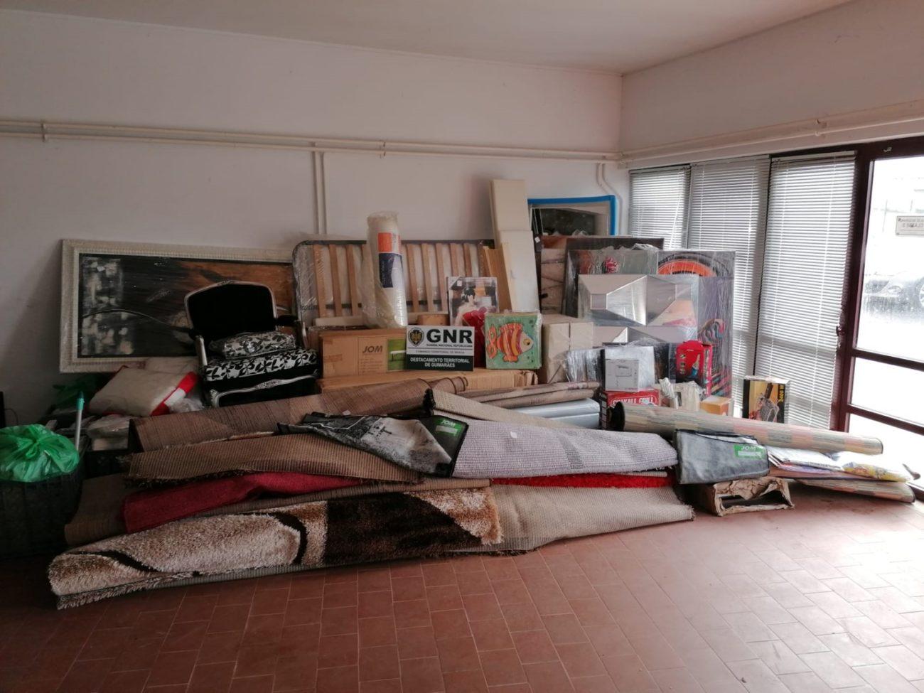 REGIÃO - Recuperado material furtado no valor de 15 mil euros em Guimarães