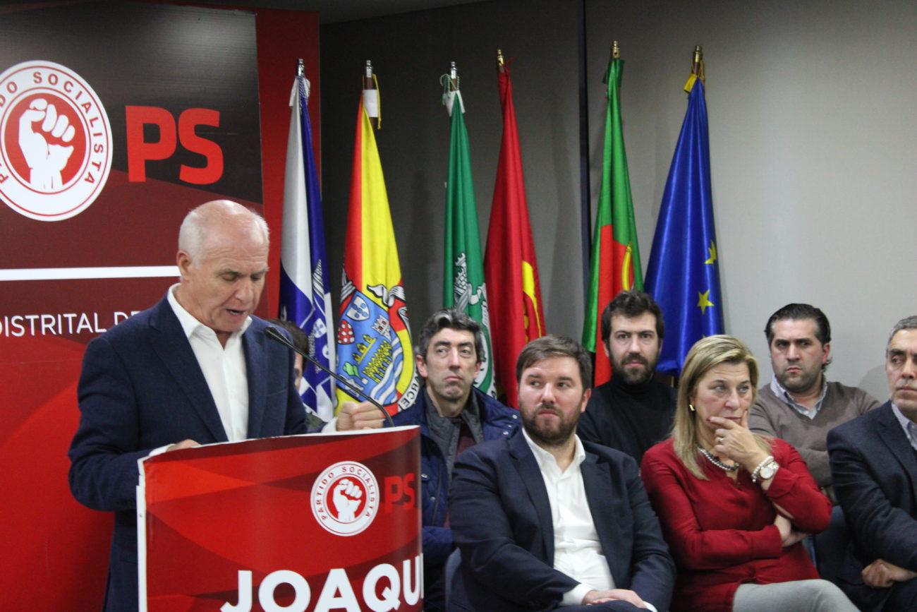 POLÍTICA – Pedro Costa e Mota Pires apoiam recandidatura de Joaquim Barreto ao PS Braga
