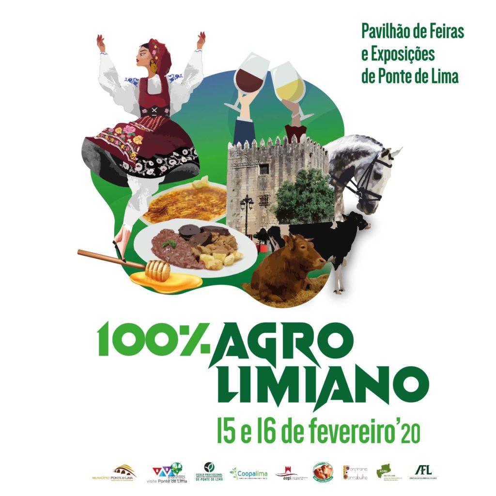 """REGIÃO - """"V Feira 100% Agrolimiano"""" em Ponte de Lima nos dias 15 e 16 de Fevereiro"""