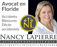 Nancy LAPIERRE – Avocat – Accident Floride