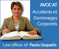 Law Offices of Paola Usquelis - Accidents et dommages corporels