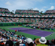 Le Crandon Park Tennis Center à Key Biscayne où se joue le Miami Open depuis 1987