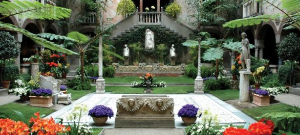 Le Isabella Stewart Gardner Museum à Boston