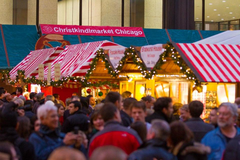 Le Christkindlmarket à Chicago