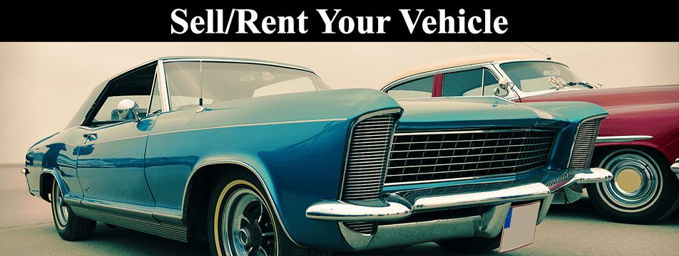 Sell/Rent Your Vehicle