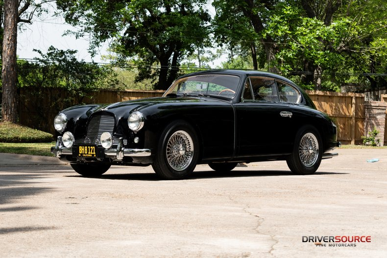 For Sale: 1954 Aston Martin Coupe
