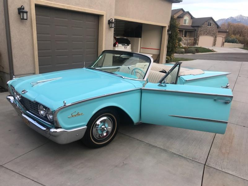 For Sale: 1960 Ford Sunliner