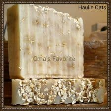 Haulin' Oats soap