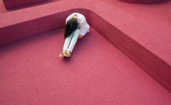 Girl Alone in Corner