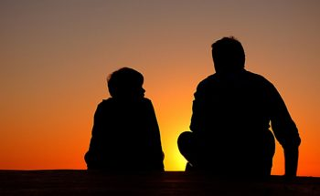 Deal with depression; talk with a friend