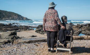 Elderly Women Friends