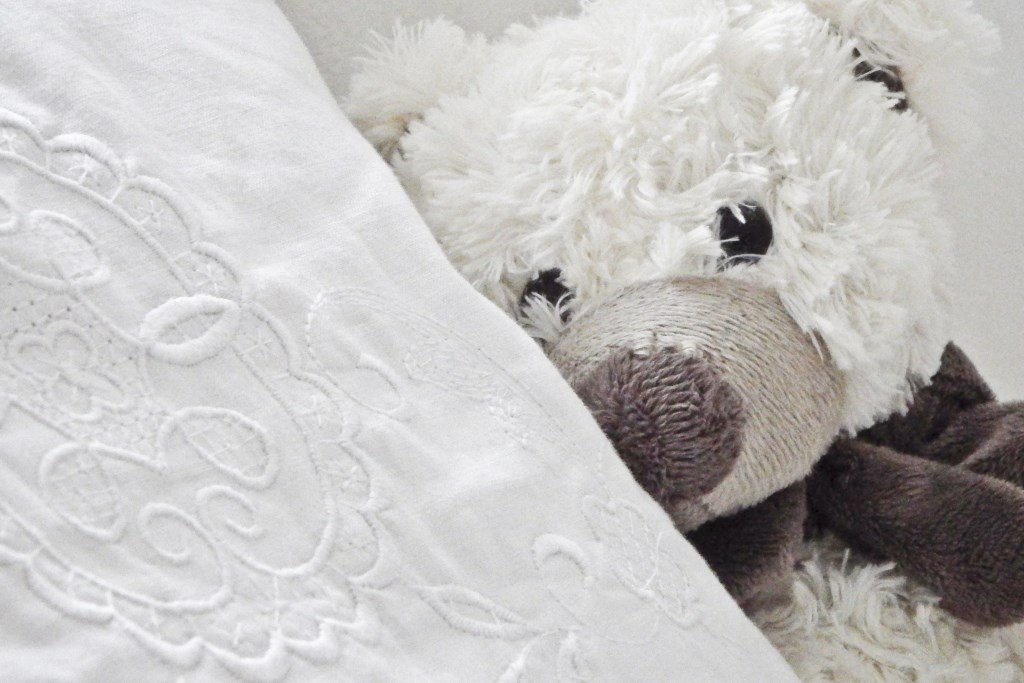 Plush toys help with a child's separation anxiety