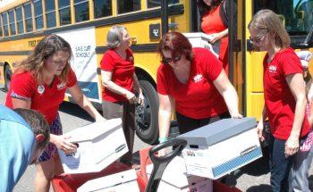 School Aid Volunteers