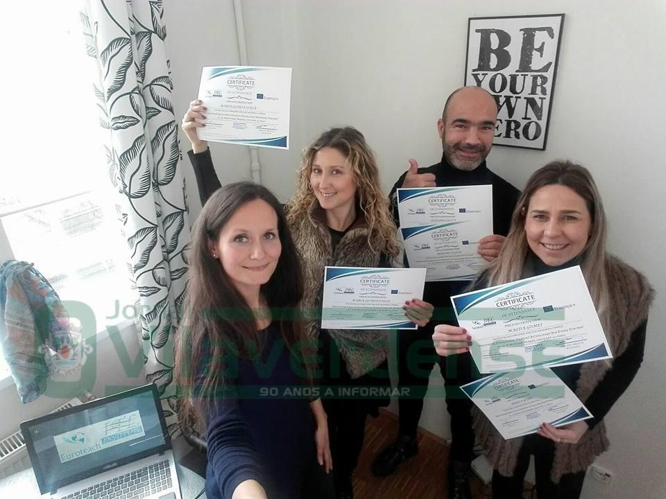 EPATVDocentes da EPATV participaram em formação do projecto Erasmus+ em Praga