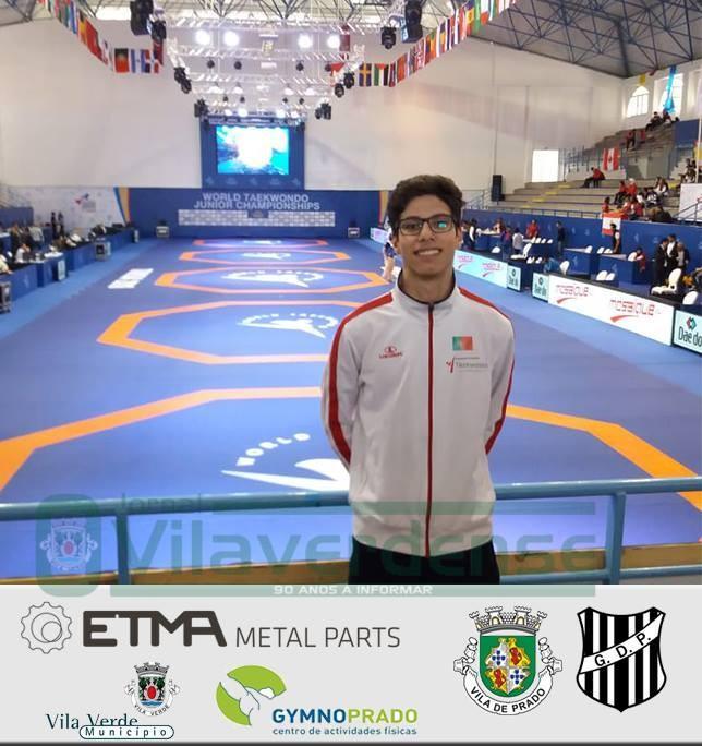 TAEKWONDOTiago Alves disputa Campeonato do Mundo de Taekwondo esta quinta-feira