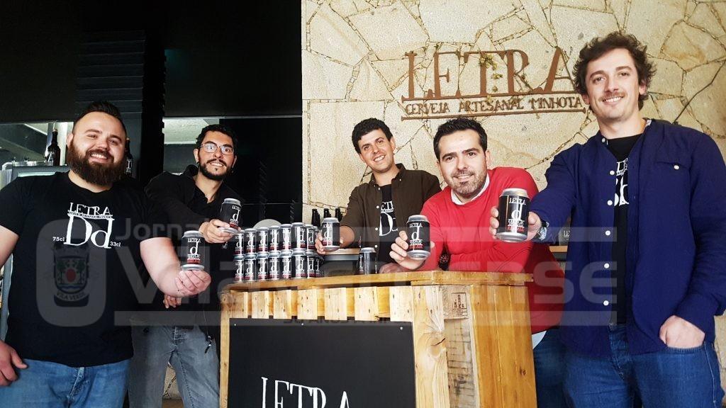 """ECONOMIA (Vila Verde)Letra lança primeira cerveja artesanal em lata… é ruiva, mais leve e começa com """"D"""""""